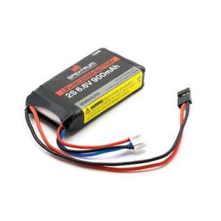 Spektrum 6.6V 900mah 2S LI-FE RX battery