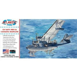 Atlantis PBY-5A Catalina US Navy Seaplane Model Kit 1/104
