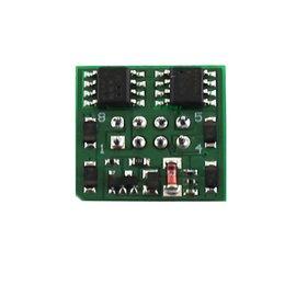 Soundtraxx MC1H102P8 HO 2 function decoder 8 pin board