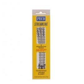 Peco CODE 55 ELECTROFROG #4 LH TURNOUT N