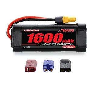 Venom Power 7.2V 1600mah NIMH 2/3A Uni-plug
