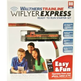 Walthers Trainline WIFLYER EXPRESS DCC BNSF TRAIN SET