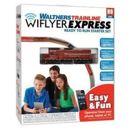Walthers Mainline WIFLYER EXPRESS DCC CP TRAIN SET - Clearance