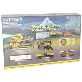 Bachmann Trains Thunder Valley Train Set ATSF N Scale