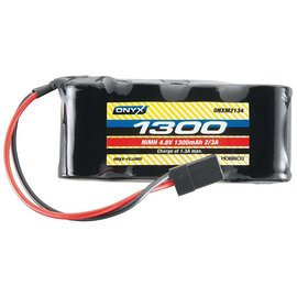 Onyx RC 4.8V 1300mah NIMH Flat RX battery