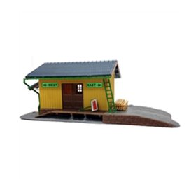 Modelpower SMALL FREIGHT STATION HO