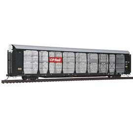 Intermountain BI-LEVEL AUTO RACK/FLT CAR CP #542570 HO