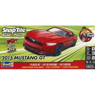 Revell 1/25 2015 MUSTANG GT RED SNAP TOGETHER
