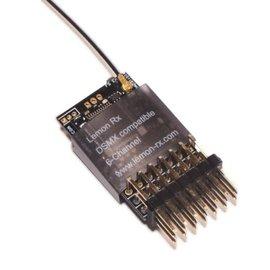 Lemon RX Lemon Rx 6 Channel Receiver DSM2 DSMX Compatible End Pin