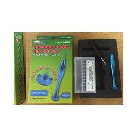 Master Tools MASTER TOOLS PREC. HOBBY PIN VISE SET 0.3-1.2 MM