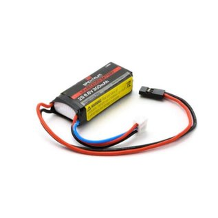 Spektrum 300mAh 2S 6.6V Li-Fe Receiver Battery