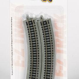 Bachmann Trains EZ TRACK 11-1/4'' Curve EZ trk N 6pk