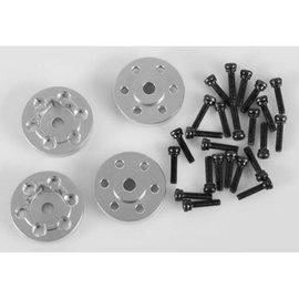 RC4WD OEM Steel 1.9 Stock Beadlock Wheel Hexes, CNC Alum