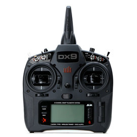 Spektrum DX9 Black 9-Channel DSMX Transmitter Only