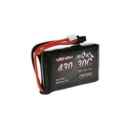 Venom Power 7.4V 430mah 2S 30C LIPO JST-PH (SXC24)