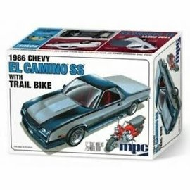 Revell 1/24 1986 Chevy El Camino SS w/ dirtbike