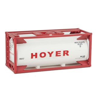Walthers Scenemaster 20' TANK CONTAINER KIT HOYER HO