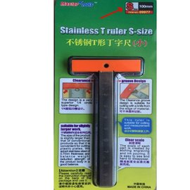 Master Tools STAINLESS T-RULER SMALL