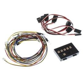Killerbody RC LED LIGHT SYSTEM W/CONTROL BOX 10 LEDS