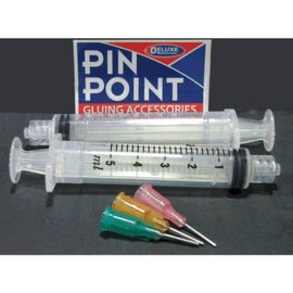 Deluxe Materials PIN POINT SYRINGE KIT