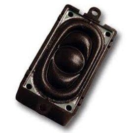 Loksound ESU LOUDSPEAKER 20MM X 40MM SQ. 4 OHMS W. SND CHAMBER