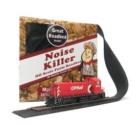 Rapido Trains NOISE KILLER MAIN LN FOAM ROAD BED HO