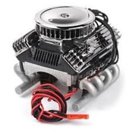 GRC GRC 1/10 Vintage V8 Scale Engine w/Cooling Fan
