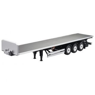 Hercules Hobby 1/14 Scale 3 Axle Tamiya Tractor Truck Flatbed Semi-Trailer
