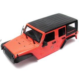Team Raffee Co. 1/10 5 Door Rubicon Hard Body 313mm Kit Version Red