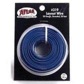 Atlas 50' Ribbon Wire, 26 Gauge/5-Conductor