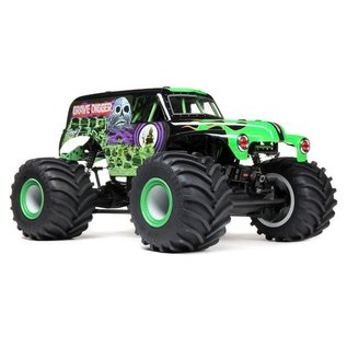 Team Losi LMT: 4wd Solid Axle Monster Truck, Grave Digger: RTR