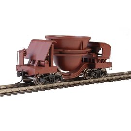 Walthers Proto Slag Car 2 pack Rust w/ Decal numbers