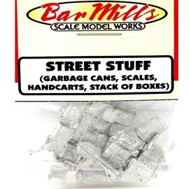 Bar Mills STREET STUFF HO SCALE