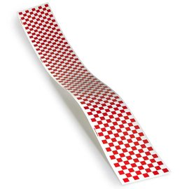 Top Flite RC TRIM MONOKOTE RED/WHITE