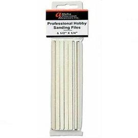 "Alpha Abrasives 1/4"" Professional sanding files - course"