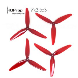 HQ Props HQPROP DP 7X3.5X3 V1S PC (4) RED