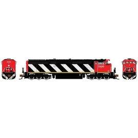 Rapido Trains DASH 8-40CM DCC/SOUND CN  STRIPES N