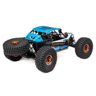 Team Losi 1/10 Lasernut U4 Blue, SMART ESC: 1/10 4WD RTR