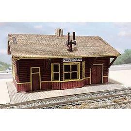 Osborn Models General Purpose Station, Paul's Depot N Scale