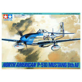 Tamiya 1/48 North Am P-51 Mustang 8th AF