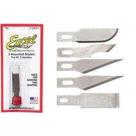 Assorted Light Duty Blades (5)