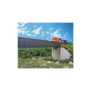 Walthers Cornerstone 90' Single Track Through Girder Bridge HO