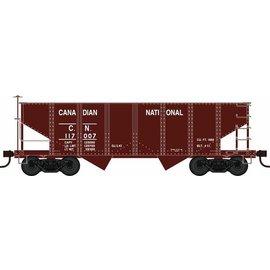 Bowser Trains GLa 2Bay Covered Hopper Car, RTR, HO, CN #117007