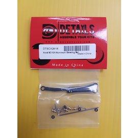 Hobby Details SCX24 Aluminum Steering Set