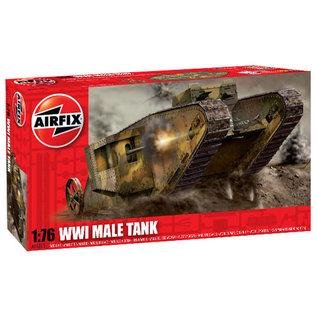 Airfix 1/72 WW1 ''MALE'' TANK