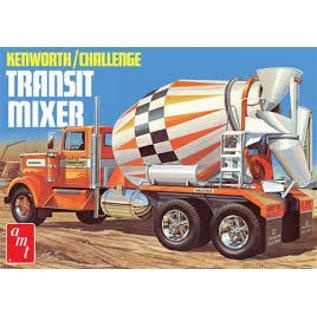 AMT 1/25 Kenworth Challenge Transit Cement Mixer