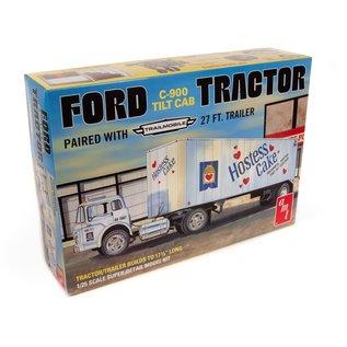 AMT 1/25 Ford C800 Hostess Truck w/ Trailer