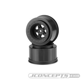 "JConcepts Starfish Mambo DR10 Street Eliminator 2.2"" x 3"" 12mm hex rear wheel black"