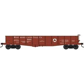 Bowser Trains HO GS 40' Gondola Westmoreland Coal #1003 Blt 7-06