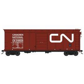Bowser Trains 40' BOX CAR CN HO